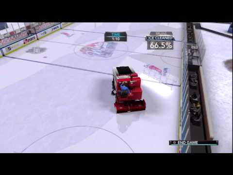 NHL 2K10 (PS3) Ride The Zamboni