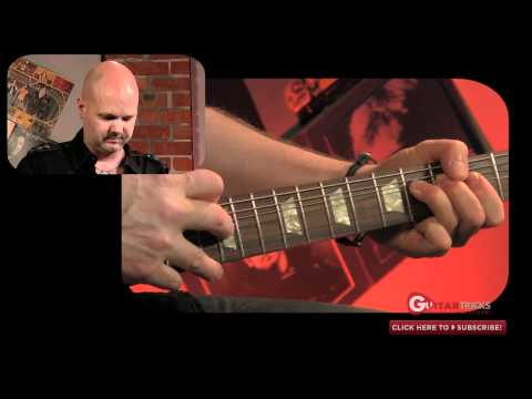 Eddie Van Halen Two Hand Tapping Guitar Lesson – Guitar Tricks