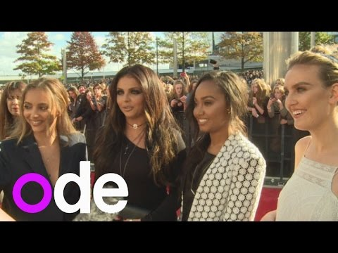 edwards - Subscribe to ODE: http://bit.ly/ODEsub We catch up Little Mix at BBC Radio 1's Teen Awards and the girls say they're working with Jess Glynn and Jessie J on their new album. Report by Sarah...
