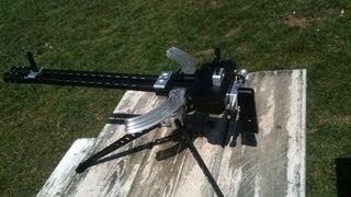 Ruger 10-22 Gattling Crank Gun Kit Test