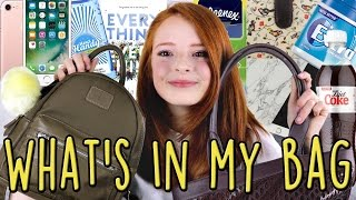 Blog: www.nilipod.comInstagram: @nilipod & @idknia  Snapchat: nilipodYouTuber's What's in my Bag / Brown Leather Laura Ashley Tote Bag / Shopping and Pull & Bear Backpack / RucksackA while back I filmed a What's In My School Bag video and it turned out to be one of my most popular YouTube videos, which I really wasn't expecting.  So I thought I do another, but instead of school stuff, I show my shopping / tote bag from Laura Ashley and backpack / rucksack from Pull & Bear.As I use these so much, all the time for days out with friends, they have quickly accumulated all kinds of things, ranging from makeup and cosmetics, sweets, books, my cute purse from Miss Lulu, my vlogging camera (Canon G7X - like Zoella / Alfie Deyes use), my Apple iPhone 7, a mountain of shopping receipts and loads of rubbish!  I really enjoyed filming this YouTube video vlog and sorting out my bags on camera!Lots of my favourite YouTubers, vloggers and children / kids have filmed similar YouTube videos / vlogs, such as Zoella / Zoe Sugg, Grace and Grace / Grace & Grace, Eve Bennet, Marcus Butler (More Marcus) and Sophie Louise, amongst other YouTubers.  These are some of the best I think:Zoella - What's In My Bag?  Zoella (Zoe Sugg, girlfriend of Alfie Deyes / Pointless Blog)jeffreestar - What's In My Birkin?  Jeffree Starjuicystar07 - What's In My Bag VlogJaclyn Hill - Whats In My Bag + Update  Jaclyn HillBethany Mota - What's in my Purse Vlog  + Win my purse essentials giveaway competition!blndsundoll4mj - Funny What Is In My Purse???MayBaby - Back To School: What's In My Backpack?!PewDiePie - What's In My Backpack / Rusksack?Nicole Guerriero - What's In My Bag: Carryon  TravelRocio Laura - Travel Essentials: What's in my Carry On and my PurseCloeCouture - What's in my Carry On Bag!Niomi Smart - Vlogging What's In My Bag?  Niomi SmartTanya Burr - Funny Video / What's In My Bag 2016  Tanya BurrPRODUCTS FEATURED / WHAT'S IN MY BAG YOUTUBE VIDEOS:Mini detailed backpack - Pull&Bear, £25.99Kleenex Ultra Soft TissuesiPhone 7Merci Handy Hand Cleansing Gel, Black Vanilla and New WavePeppermint Chewing Gum - TigerBrown Leather Tote Bage - Laura AshleyCanon G7X Camera batteries in battery pouchWaterstones £15 Gift CardCompact MirrorClarins Lip Liner, shade 02 Nude BeigeRimmel Lasting Finish Kate Moss Lipstick 15 Year, shade 056 Boho NudeMicrofibre clothPeppermint Extra Chewing GumKitKat WrapperApple HeadphonesOld ReceiptsBottle of Diet CokeMini Chocolate Easter Egg and Mini Cadbury's Creme EggBook - Everything, Everything by Nicola YoonApple iPad mini 3 64GB (gold) in marble grey / white iPad Mini 3 flip case coverJaffa CakesSherbert LemonsTesco Bag for LifeFoldaway Shopping bagMiss Lulu Oilcloth Purse Bird PinkWerther's Original and Fox's Glacier MintsTardis Tin of Mints from Doctor Who Experience, Cardiff BayHotel Chocoolate CouponHalls SoothersLoose ChangeIce Lolly Stick, Napkin  and Sweet WrappersThanks for checking out my NiliPOD YouTube channel and videos vlogs.  There's lots more if you have time to watch - funny videos, days out vlogs, makeup reviews, monthly favourites, children's / kids challenges and stuff like that.  Please comment down below what you think of my yellow pompom accessory on the Pull & Bear Backpack!WHAT I'M WEARING:Top: H&MSoufeel Engravable Bar Necklaces: £28.00 each, http://www.soufeel.com/personalized-jewelry/?utm_campaign=YouTube5Lip colour: Mac Cremesheen Lipstick, shade Shanghai SpiceRELATED YOUTUBE VIDEOS:What's In My School Bag /Back to School  NiliPOD, https://www.youtube.com/watch?v=3enqlhvXW0ICardiff Vlog, Dr Who Experience, St. David's Shopping Centre, Cardiff Bay  NiliPOD, https://www.youtube.com/watch?v=ouyvuqfN_Qk ABOUT ME: Name: NiaCamera: Canon 70D (Canon PowerShot G7X for vlogs)Age: 14From: England, UKHobbies:  YouTube videos (filming and editing) and photographyEditor: Final Cut Pro XFavourite YouTubers and Beauty Vloggers: I love makeup videos and how to tutorials by Zoella (Zoe Sugg), Tanya Burr, Michelle Phan, Eve Bennett, Niomi Smart, Danielle Mansutti, Tati (GlamLifeGuru), Hannah Blair, Sprinkle of Glitter (Louise Pentland) and Jim Chapman's sisters Samantha and Nicola (Pixiwoo / Real Techniques cosmetics) - people like that!Favourite Music Videos: Ed Sheeran, Taylor Swift, Justin Bieber, Adele, Fall Out Boy, Panic at the DiscoMY LINKS:Website: http://www.nilipod.comYouTube: https://www.youtube.com/c/nilipodBlog : http://www.nilipod.com/blog.htmlFaceBook : https://www.facebook.com/Nilipod-1522861534695710Twitter : https://mobile.twitter.com/nilipodInstagram : https://www.instagram.com/nilipodInstagram (Personal) : https://www.instagram.com/idkniaTumblr : http://nilipod.tumblr.comSnapchat - nilipodP.S. All music isn't mine and I do not claim it as my own!CREDIT TO: Bastille - Bad Blood (Lido Remix), Kevin MacLeod and Sophonic Media