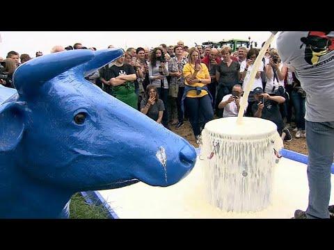 Επετειακή διαμαρτυρία Ευρωπαίων κτηνοτρόφων για τις τιμές…