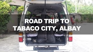 Tabaco Philippines  city photos : Road trip to Tabaco City, Albay, Philippines
