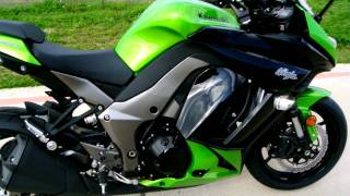 10. Overview and Review of the 2012 Kawasaki Ninja 1000 ABS Candy Lime Green and Black