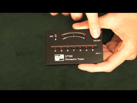Video - SHAR Chromatic Tuner | ST100