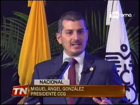 Cámara de Comercio de Guayaquil posesionó a su nuevo presidente