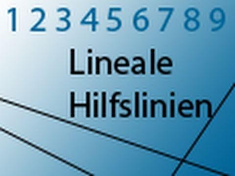 Lineale und Hilfslinien in Adobe® Photoshop®