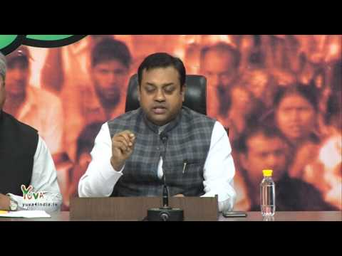 The Congress party has always mistreated Dalits: Dr Sambit Patra