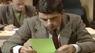 MrBean - Mr Bean - Copying wrong answer