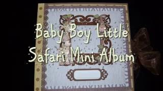 "In today's video, I show a mini album I made for a special order using Hobby Lobby's ""The Paper Studio"" Little Safari paper collection. Thank you so much for watching and look for a new video coming soon!"