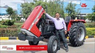 Massey 9500 Tractor - Punjabi