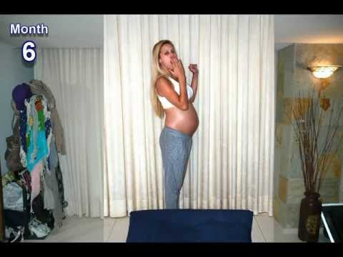 9 months in 1000 pictures stop motion (Pregnancy time lapse!) – Osher, Tomer and Baby Emma