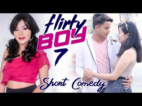 (New Nepali short comedy | फेसबुकले डुबायो | Flirty Boy-7 Ft. Santosh Baniya | Wow Nepal - Duration: 4 minutes, 16 seconds.)