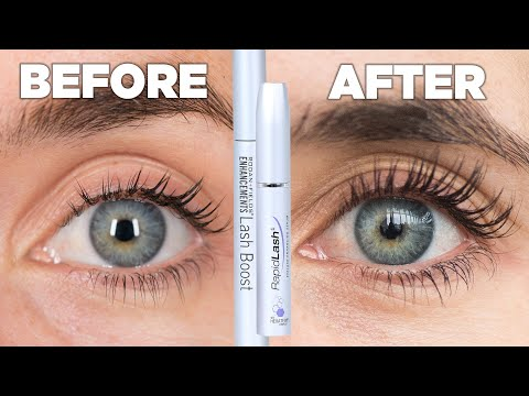 Women Try Eyelash Growth Serum For A Month