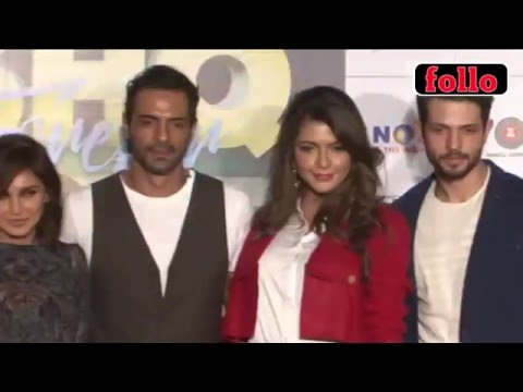 Arjun Rampal, Lisa Ray At 'Ishq Forever' Trailer Launch