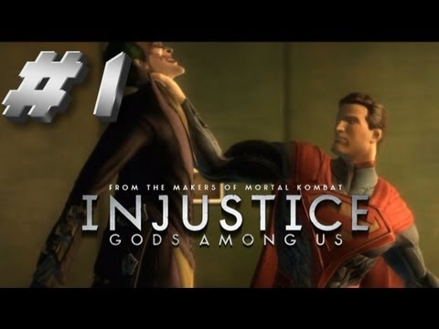 kNIGHTWING01 - Injustice Walkthrough Part 1 Joker has Nuked Metropolis & killed Lois Lane. Superman races to find The Joker and make him pay. Can Batman stop his best frien...