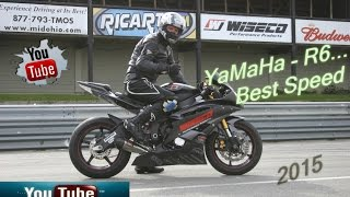 9. YaMaHa  - R6... Best Crazy Top Speed  R6 (Acceleration 0 - 270 HD+)
