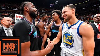 Golden State Warriors vs Miami Heat Full Game Highlights | Feb 27, 2018-19 NBA Season