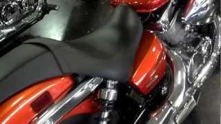 6. 2012 Honda Shadow Spirit 750 Orange Flame Walk Around Video & SALE at Honda of Chattanooga