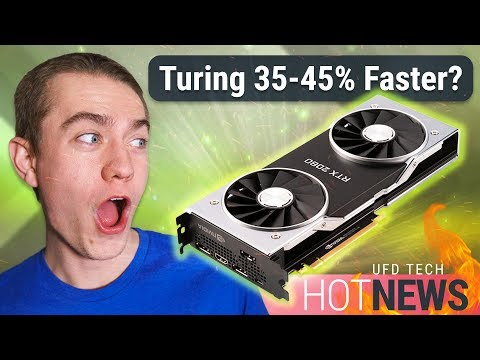 Nvidia Officially Says RTX 2080 Only 35-45% Faster