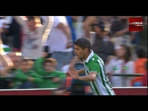 La Liga | Todos los goles del Real Betis - Valencia CF (1-0) | 27-10-2012 | J9 (видео)