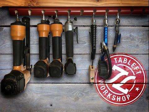 Pvc Air Tool Rack Tableft Workshop