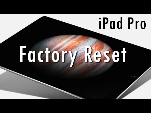 iPad Pro - How to Reset Back to Factory Settings (Hard Reset) | H2TechVideos