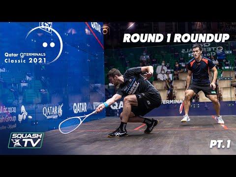 Squash: Qatar Classic 2021 - Rd 1 Roundup [Pt.1]