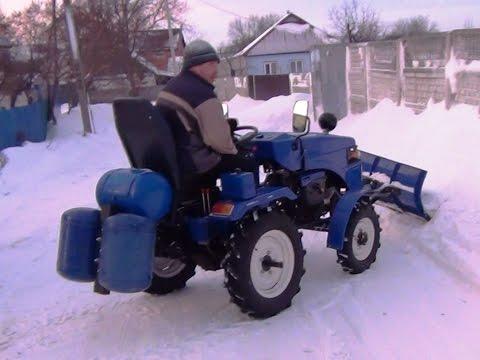 Пахота трактором Беларус-132Н - YouTube