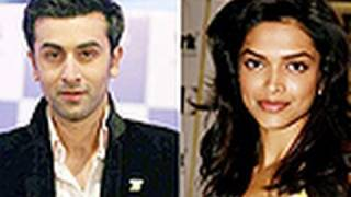 Ranbir Kapoor And Deepika Padukone Face-off At Delhi Belly Screening