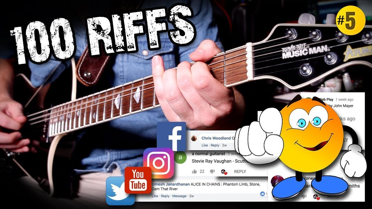 100 Greatest Guitar Riffs – Suggested by YOU! m/ (#5)