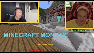 [Full Replay] PewDiePie Plays Minecraft Monday with James Charles on DLive