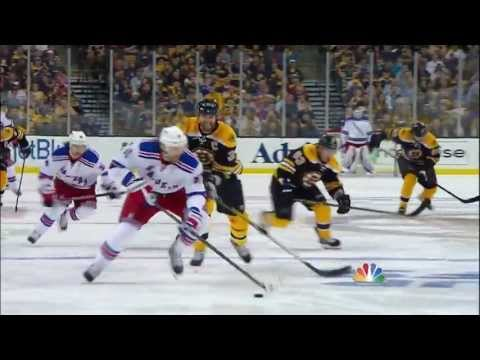 2. - The Boston Bruins play the New York Rangers in Game 2 of the Eastern Conference Semifinals, on May 19, 2013.