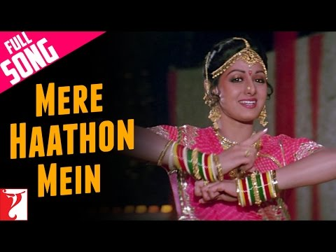 Video Mere Haathon Mein - Full Song | Chandni | Rishi Kapoor | Sridevi | Lata Mangeshkar download in MP3, 3GP, MP4, WEBM, AVI, FLV January 2017
