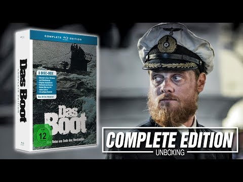 DAS BOOT || 8 Discs Complete Edition || UNBOXING