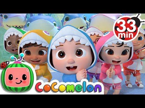 Baby Shark Submarine + More Nursery Rhymes & Kids Songs - CoComelon
