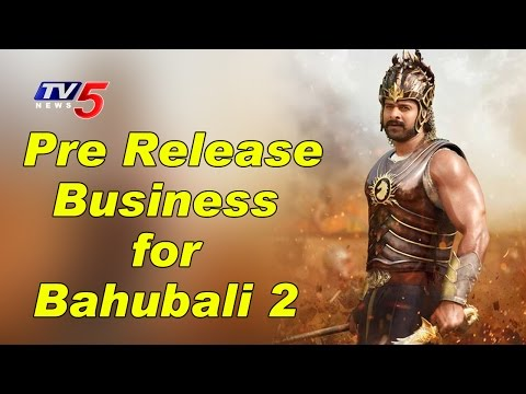 Pre Release Business Began For Bahubali 2