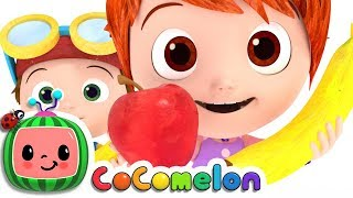 Apples and Bananas Song   CoCoMelon Nursery Rhymes & Kids Songs