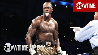 Deontay Wilder's Last 10 Knockouts | SHOWTIME PPV