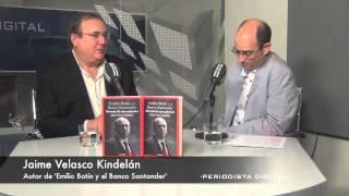 Jaime Velasco Kindelán, autor de 'Emilio Botín y el Banco Santander'. 25-9-2014