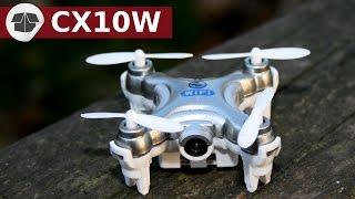 """Le plus petit drone fpv est le moins cher au monde le CX-10W  - CX10W wifiClique ici pour t'abonner ► https://goo.gl/PkIcj8 (merci)Pour acheter le CX-10W vous pouvez le trouver ici : http://bit.ly/cx10w8BanggoodIl est livré sans télécommande.Unboxing CX10 :- CX-10C ici : https://www.youtube.com/watch?v=YejtOUJNET8- CX10WD ici : https://www.youtube.com/watch?v=FkdAS0HIuWI►Pour acheter le CX-10WD, vous pouvez le trouver ici : http://bit.ly/CX-10WD_Banggood►Pour acheter le CX-10W  , vous pouvez le trouver ici : http://bit.ly/cx10w8Banggood►Pour acheter le CX-10C, vous pouvez le trouver ici : http://bit.ly/CX10C-Banggood►Pour acheter le CX-10A, vous pouvez le trouver ici : http://bit.ly/CX10A-BanggoodSi vous avez besoin d'une radiocommande supplémentaire pour votre cx10w, je vous conseille d'acheter le CX10A que vous trouverez ici : http://bit.ly/CX-10A_Banggood Il est moins cher que l'achat de la radiocommande seule et vous disposerez d'hélices et d'un chargeur supplémentaire. Vous aurez aussi le CX-10A qui permet de se faire la main avec le mode """"no nose"""" bref vous aurez aussi deux drones.Pour faire les lunettes VR ou vos lunettes immersions vous-même, vous pouvez suivre les instructions de Google ici : http://bit.ly/make-google-cardboardVous aurez besoin de lentilles que vous pourrez trouver ici : http://bit.ly/lens-cardboard_BanggoodVous pouvez aussi acheter les Google cardboard ou lunettes immersions déjà faites ici : http://bit.ly/Google-Cardboard_BanggoodIncroyable CX 10W ou CX-10W est un quad avec caméra intégrée au drone et un retour fpv sur le téléphone. Le CX 10-W est le plus petit drone fpv au monde. Le CX-10-W ou cx10 wifi c'est QuadCopter, un Nano Drone ou Pico Drone avec caméra et fpv. Ce QuadCopter le plus petit fpv du monde RC.Déballage produit CX 10W wifi,  CX10W Test camera, test de vol, test fpv et comparaison CX-10W vs CX10C.On peut saluer la prouesse de miniaturisation de ce cx10-W camera et fpv, mais adjoindre une caméra, au détriment des performa"""