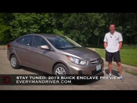 2013 Hyundai Accent DETAILED Review on Everyman Driver