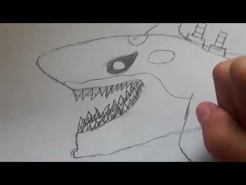 How to draw the Atomic shark