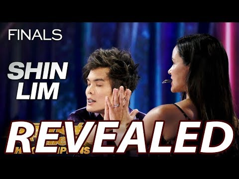 Shin Lim Americas Got Talent Champions - EPIC MAGIC CARD TRICK Revealed