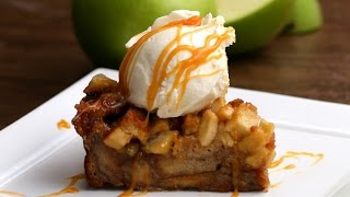 Apple Pie Bread Pudding by Tasty