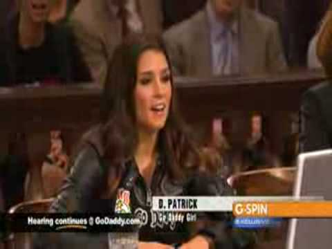 Danica Patrick reveals enhancements in 2009 GoDaddy com Super Bowl Commercial