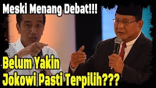 Video Meski Menang Debat, Saya Masih Belum Yakin Jokowi Pasti Terpilih MP3, 3GP, MP4, WEBM, AVI, FLV Februari 2019