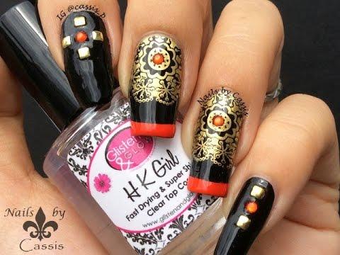 nail art orientale