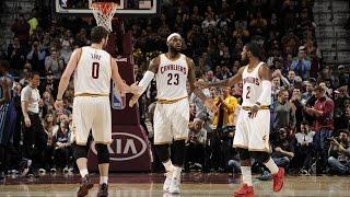 NBA - basket - LeBron James - Kyrie Irving - Kevin Love - Cleveland Cavaliers