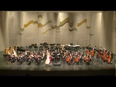 harp - www.nataliesalzman.com Winner's concert of the 2013 Harp Concerto Competition at the Jacob's School of Music, Indiana University Natalie Salzman (harpist) pl...
